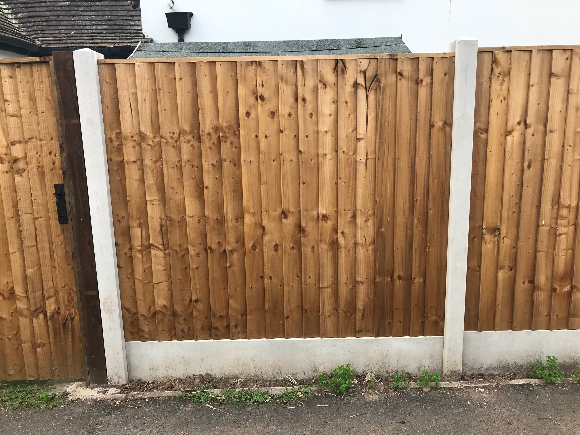 Vertilap Fence Panel